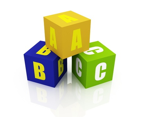 ABC Letters Blocks photo