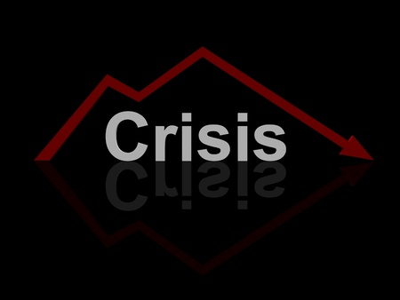black crisis Stock Photo - 12516404