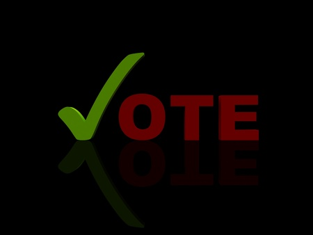 vote black photo