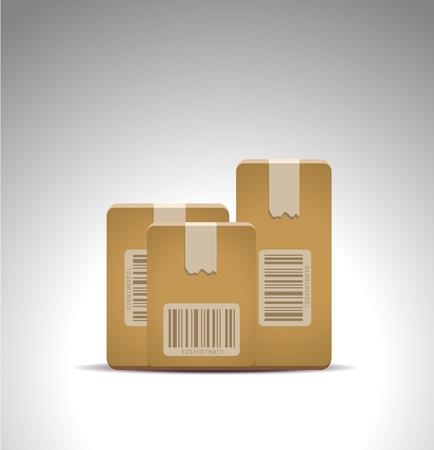 delivery box icon Vector