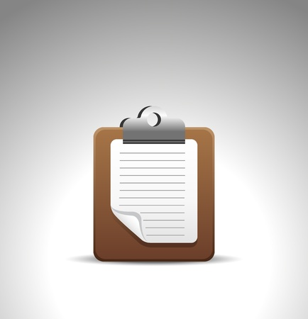 note icon Stock Vector - 12492337