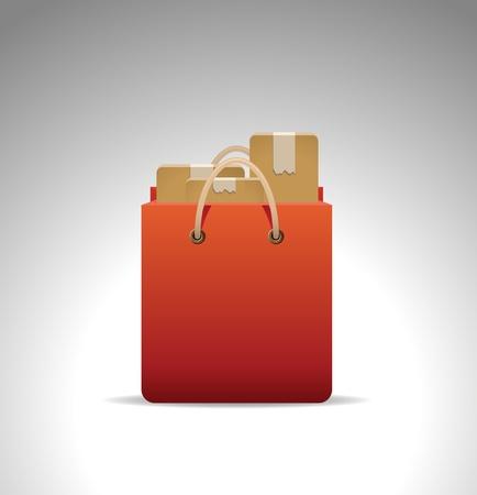 shopping bag icon: shopping bag icon