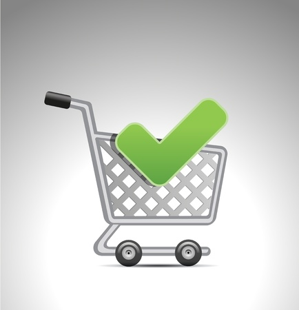 add to shopping cart Vector