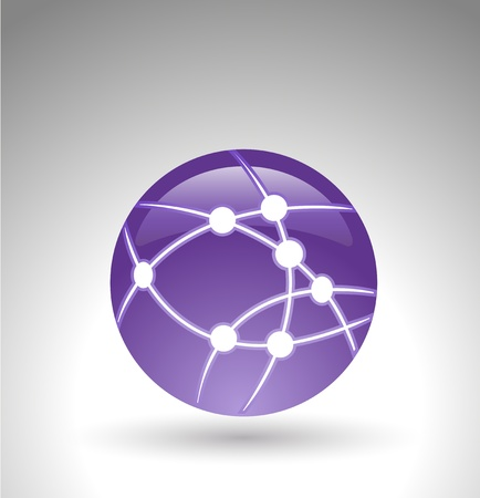 wireless internet or network icon Vector