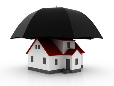 Property insurance Stock Photo