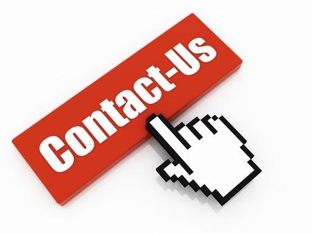 contact us button concept photo