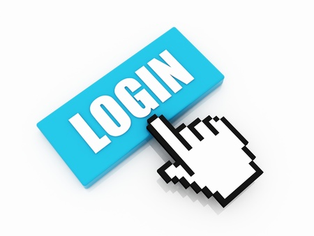 login button concept Stock Photo - 12730999