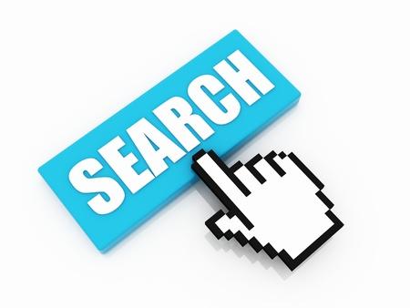 internet search: Search button concept