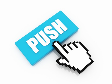 push button concept Stock Photo - 12730990