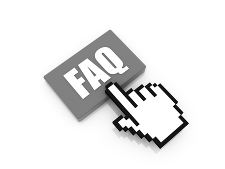 icon FAQ frequently asked questions photo
