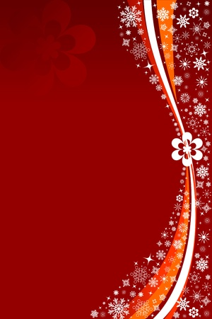 red abstract card Stock Photo - 12731214