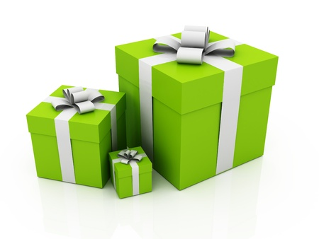 green gifts photo