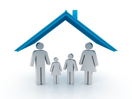 Family Home Stock Photo - 12902419