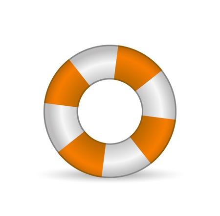 sobreviviente: La vida de vectores icono de flotador