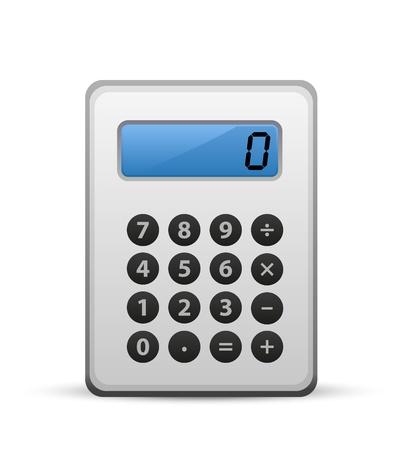 calculator icon, vector calculator Stock Vector - 13191497
