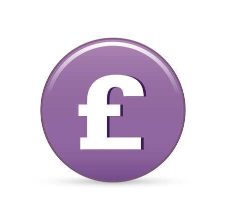 sterling money vector icon Vector