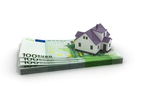 House Mortgage isolated photo