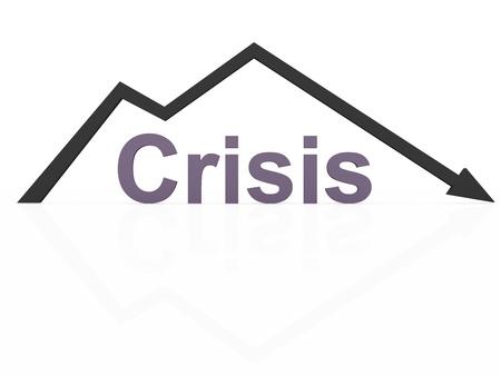 crisis economica: La crisis econ�mica la ca�da de negocios