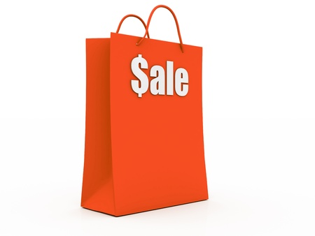 Sale Shopping Bag  photo