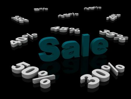 sale percent photo