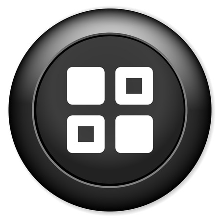 thumbnails: Thumbnails icon. Gallery view option symbol.