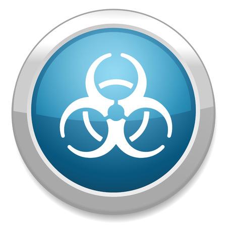 hazardous waste: biohazard icon