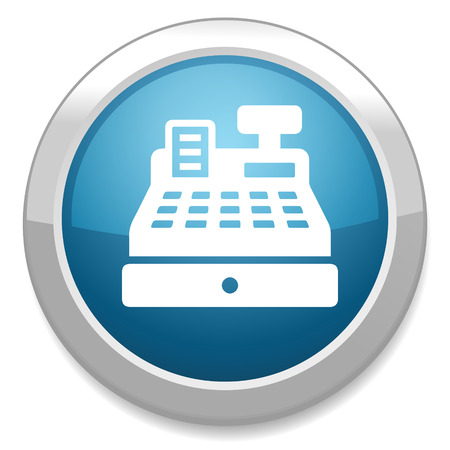 cashier machine icon Vector