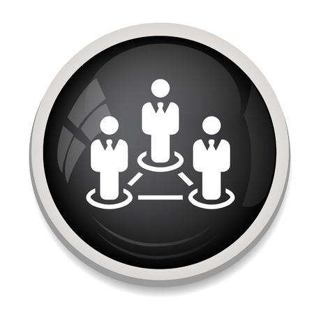 red de personas: icono de la red de personas