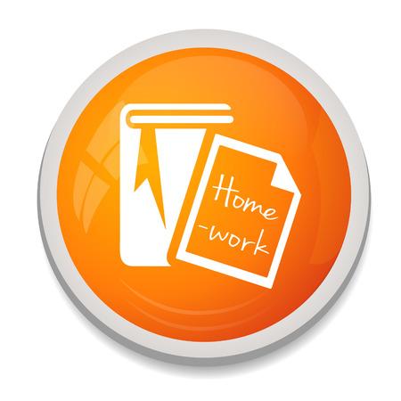 read magazine: homework book icon