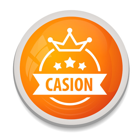 Casino sign icon. Vector