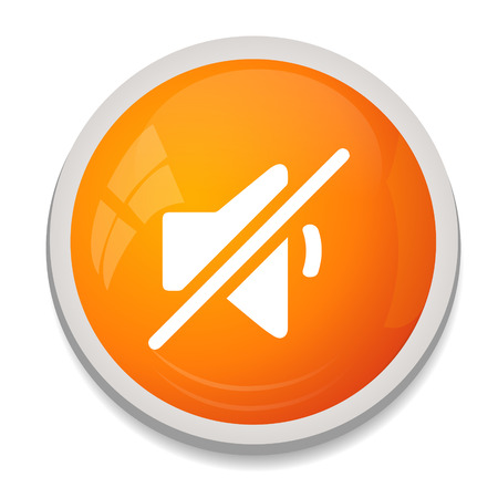 Mute speaker sign icon.  Vector
