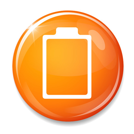 low battery: Battery empty icon. Low Battery symbol