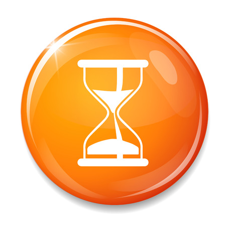 sand timer: Sand timer symbol.