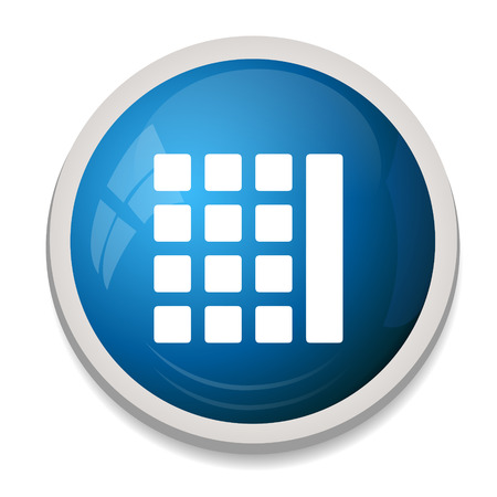 thumbnails: Thumbnails grid sign icon. Gallery view option symbol.