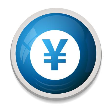 yen sign: Icono de signo Yen Vectores