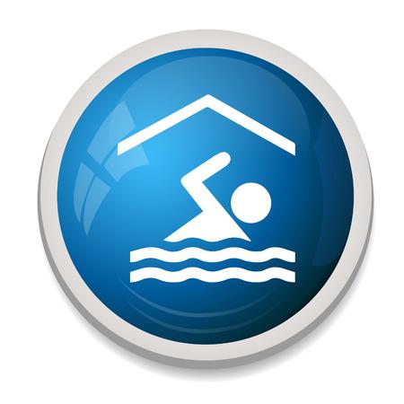 swim race: nataci�n icono