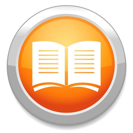 read magazine: Book sign icon. Open book symbol