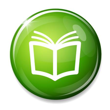 read magazine: Book sign icon. Open book symbol.