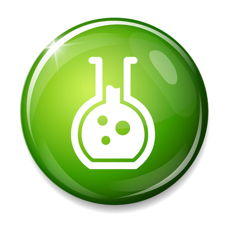 the equipment: Laboratory equipment symbol. Illustration