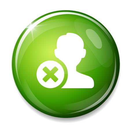 contact icon: verwijderen contactpictogram