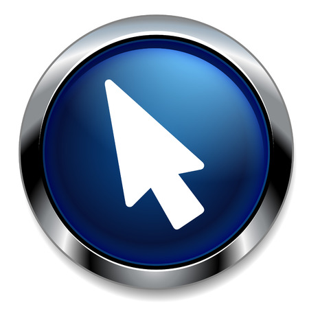 mouse cursor: Mouse cursor icon. Pointer symbol.