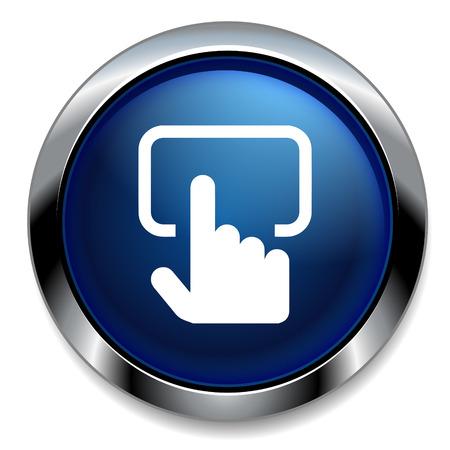 toque: Tela sens�vel ao toque �cone de sinal de monitor.