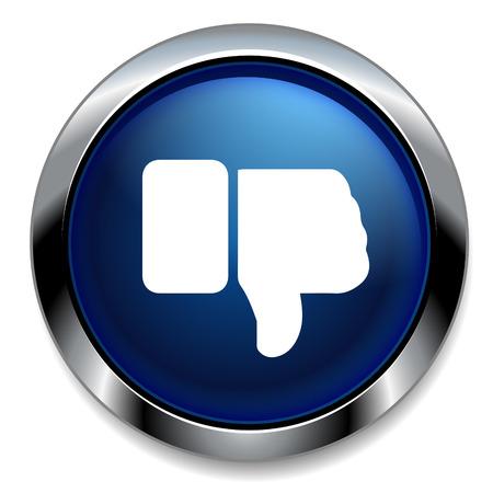 dislike: afkeer icoon