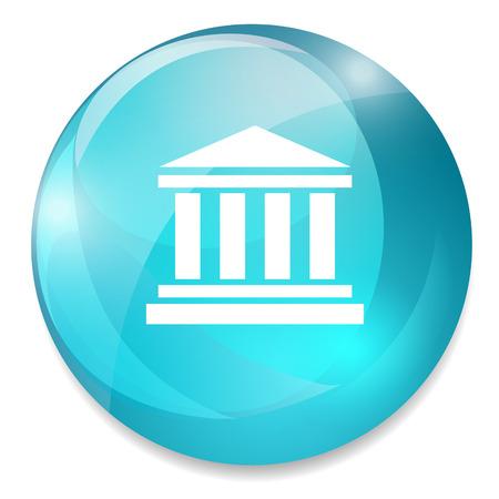 roman column: courthouse icon