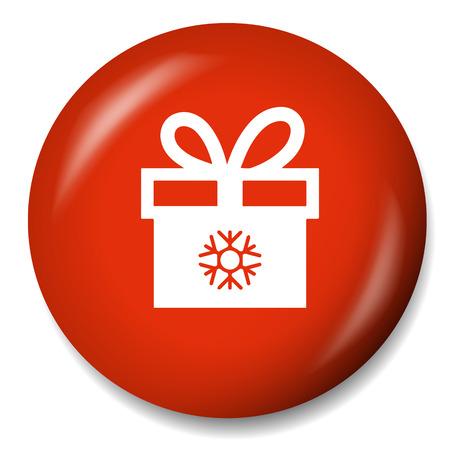 christmas icon: christmas gift icon