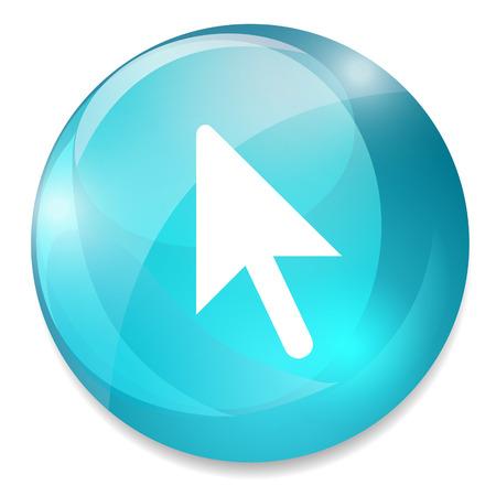 mouse cursor: Mouse cursor sign icon. Pointer symbol.