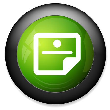 sticky note: sticky note icon