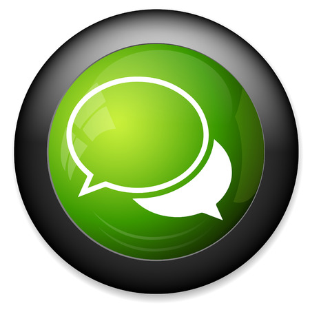 communication concept: Chat sign icon. Speech bubbles symbol. Communication concept.