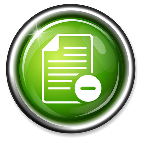 icons site search: remove Text file sign icon. File document symbol.