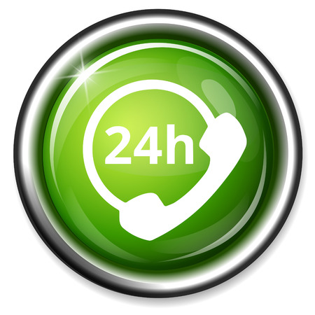 customer: 247 customer service icon